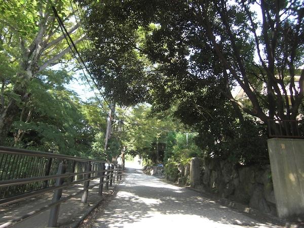 天王山登山口
