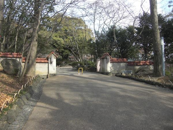 アサヒビール大山崎山荘美術館入り口
