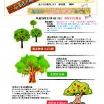 島本の天然記念物めぐり 2016年12月4日(日)に開催