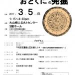 「スライドでみるおとくにの発掘」2017年3月5日(日)大山崎ふるさとセンターにて開催