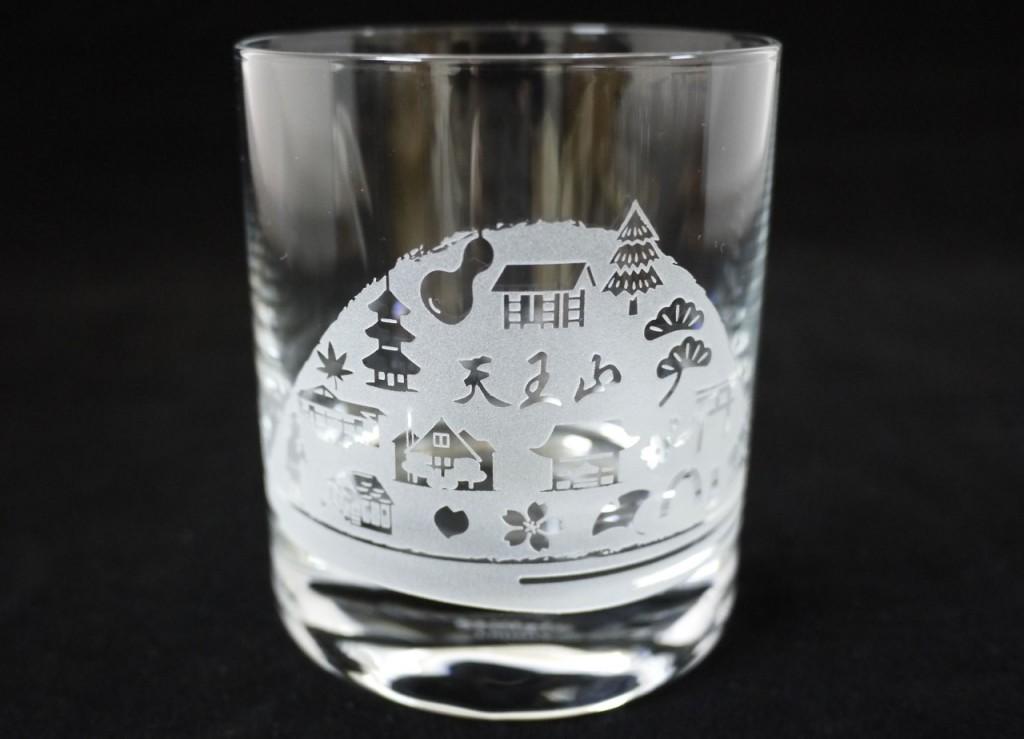 天王山グラス写真