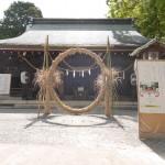 「二つの夏越祓」茅の輪くぐり巡り 2017年6月30日(金)水無瀬神宮と若山神社にて