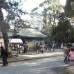 水無瀬神宮 初詣 2013年