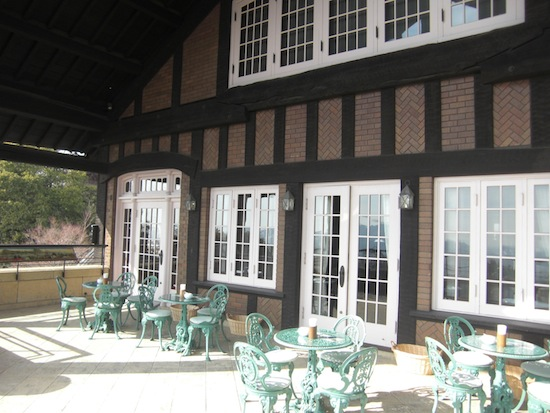 山荘美術館カフェ