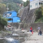 尺代あまご・ます釣場(水無瀬川上流)