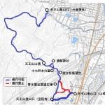 天王山ハイキングコースの一部を通行禁止に 2019年6月17日~整備完了まで【開通しました】